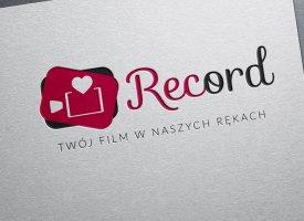 Projekt logo i strona internetowa Record Studio